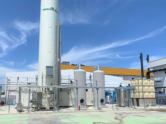 Air Products' cryogenic nitrogen plant in the Bayan Lepas Free Industrial Zone (Penang, Northern Malaysia)
