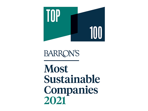 Barron's Most Sustainable Companies 2021 logo