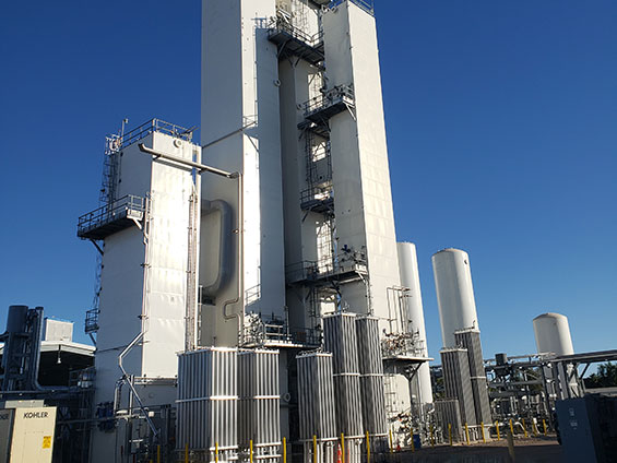 ASU (air separation unit) in Chandler, Arizona